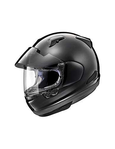 Arai QV de Pro Diamante Negro Moto Casco