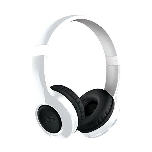 Jam HX-HP400WT-EU Transit Lite Ultraleichter Bluetooth On-Ear Kopfhörer weiß