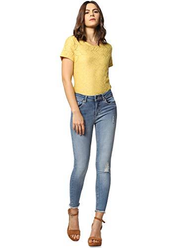 ONLY Damen Skinny Jeans, Blau (Light Blue Denim), XS/L30