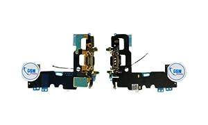 Dock Connector Flex USB Ladebuchse Buchse Mikrofon für Apple iphone 7 Schwarz