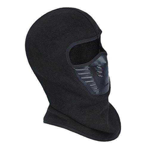 Ishua Maschera da Sci Antivento, Passamontagna Unisex Maschera da Sport Multi-Funzione in Felpa Termica Resistente al Vento, Scaldacollo, Cappuccio Protezione UV Traspirante