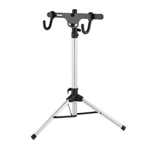Robuster Fahrradständer, auch fürs Mountainbike -Reparaturständer für Fahrräder aller Art bis 30 kg, mit sinnvollen Features für die Fahrradreparatur