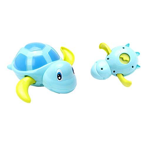 VJGOAL Baby Kids Multi Typ Wind Up Schildkröte Kette Badendusche Uhrwerk Spielzeug (zufällig, 10 * 11cm)