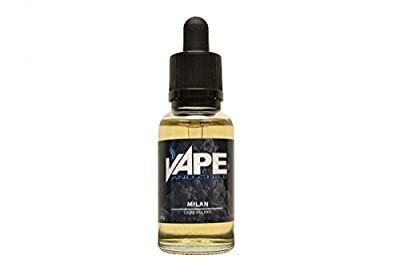 E Cigarette Liquid Cappuccino Flavour Non-Nicotine Vaping Juice by Vape and Chill 80-20 VG-PG in a 30ml Glass Bottle with Dropper from Vape and Chill