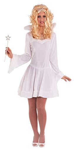 Karneval-Klamotten Eiskönigin Schneekönigin Damen-Kostüm Eisprinzessin sexy Kostüm Erwachsene Kleid Größe 40/42