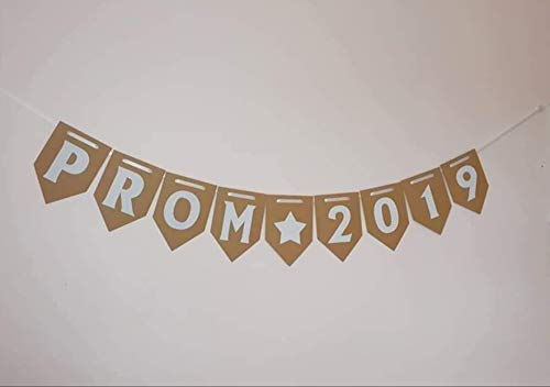 PROM 2019 Banner/School Bunting/party decorations. Shabby Chic Decoration. Prom READY TO HANG