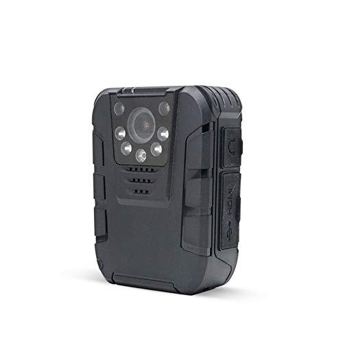 Polizei-Körper-Kamera Mit Nachtsicht Für Strafverfolgungs-Videorekorder - HD 1080P Bewegungserkennung - Überwachungs-Taschen-Körper Getragene Kamera - Mini-Bewegliche Körper-Nocken,64G (Polizei-kamera)