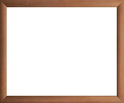 Kupfer Dekor 35 x 50 cm modern stabil eckig hochwertig preiswert mit extra starker 2mm Antireflex Acrylscheibe ()