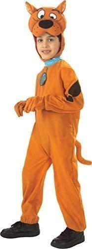 Jungen Plüsch Scooby-Doo Offiziell Lizenziert 1960s Jahre Büchertag Halloween Kostüm Kleid Outfit - Braun, 5-6 Years, Braun