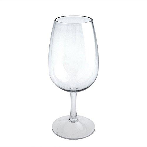 Verkostungsglas INAO Tasting Glas Nosing Glas aus Kunststoff Plastik 220 cl.von Doimoflair Transparent Set 6 Stück