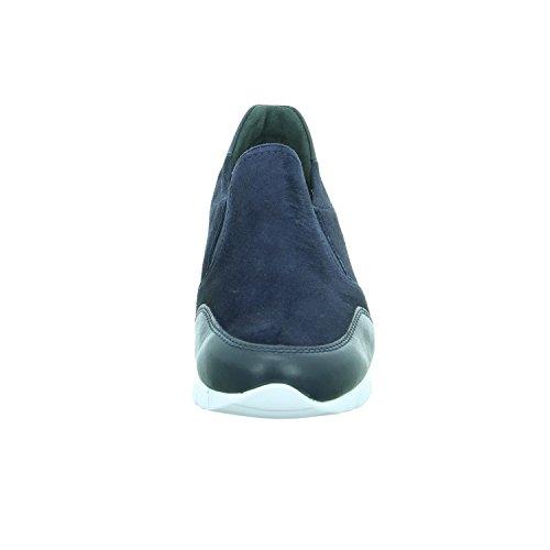 Semler N8075-457809, Blau Femme Moccassins