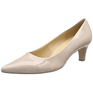 Gabor Shoes Fashion, Scarpe con Tacco Donna, Beige (Sand), 36 EU