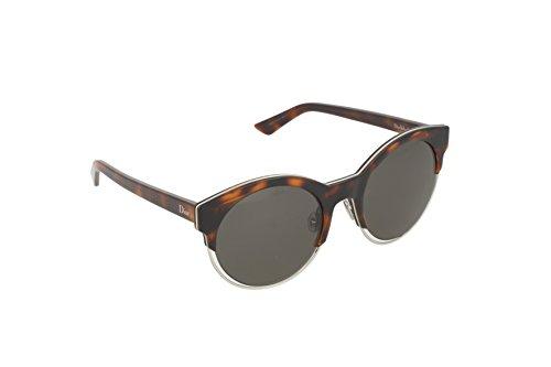 Christian Dior Damen Sonnenbrille Diorsideral1 Nr, Schwarz (Havana Palladium), 53 (Christian Dior Sonnenbrille Havana)