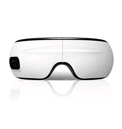 (MIMI KING Drahtlose Augenmassagegerät Smart Mask Hot Bluetooth Musik Stress Kopfschmerzen Schutz Instrument Zu Lindern Augen Müdigkeit Augenmassage Instrument)
