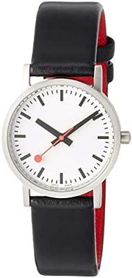 Mondaine Reloj Analógico para Unisex Adultos de Cuarzo con Correa en Acero Inoxidable A658.30323.16OM