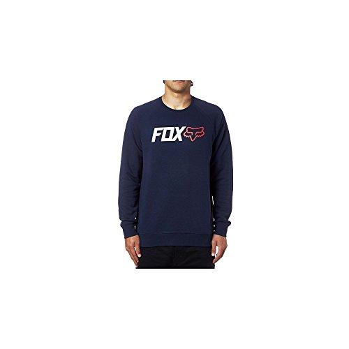 Fox Fleece Pullover Legacy Crew Blau Gr. M (Fleece Herren Crew)