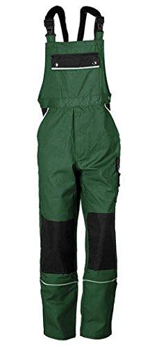 TMG Latzhose Arbeitshose Berufsbekleidung Canvas 320 g/m² (76, grün)