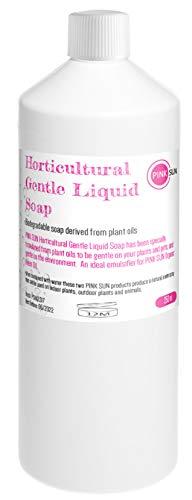 PINK SUN Jabón Líquido Para Horticultura 250ml Horticultural Gentle Liquid Soap Uso con Aceite de Neem Orgánico