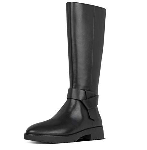 Fitflop Y33-090 Knot Knee High Boots All Black