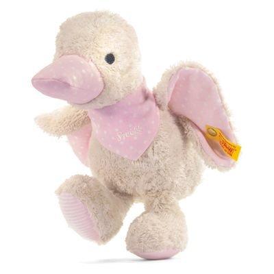 Steiff 238338 - Schnatter-Ente, rosa, 23 cm