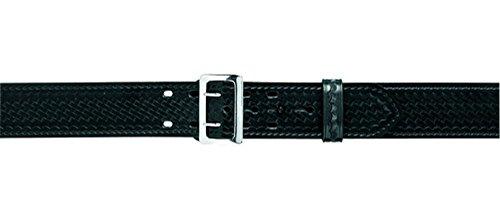 Safariland 87 Duty Belt Plain Black, Chrome Buckle, Size 42 by Safariland -