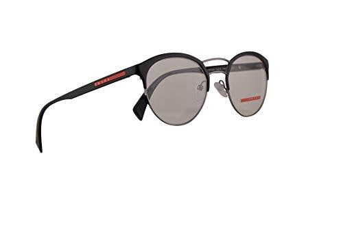 Prada PS52HV Brillen 50-19-140 Schwarz Gunmetal Mit Demonstrationsgläsern 7AX1O1 VPS 52H PS 52Hv VPS52H