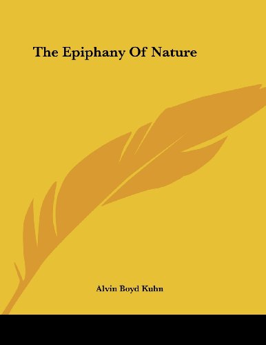 The Epiphany of Nature