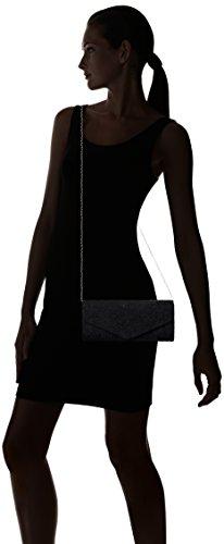 SwankySwansJulia Lace Sequin Clutch Bag Black - Sacchetto donna Black (Black)