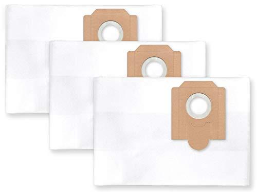 Fein Filtersack (3x Vlies Staubbeutel Filtersack für FEINSTAUB/BAUSTAUB 6-lagig für Fein Dustex II, 25)
