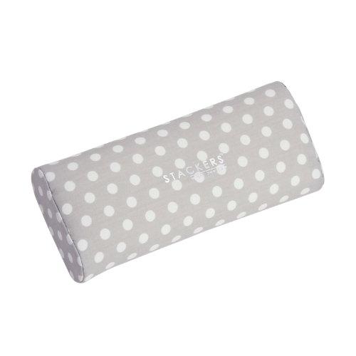 Stackers-jewelry-box-accessory-ver-y-pad-pulsera-de-color-gris-con-lunares