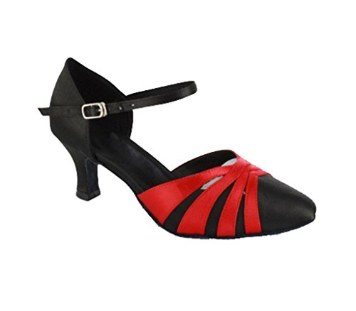 TDA - Sandali con Zeppa donna Red Black