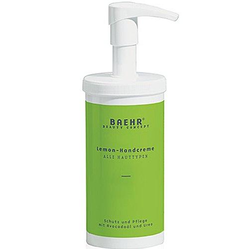 BAEHR Beauty Concept, Lemon Hand-Creme, Schutz und Pflege mit Avocadoöl, 450ml mit Spender