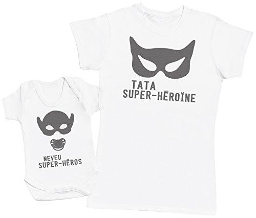 neveu-super-heros-ensemble-tata-bebe-cadeau-femme-t-shirt-bebe-bodys-blanc-l-0-3-mois
