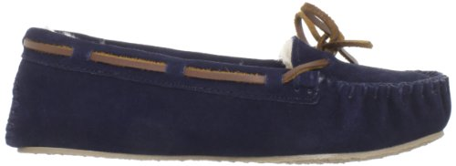 Minnetonka Cally 4014, Chaussons Femme Bleu (Dark Navy)