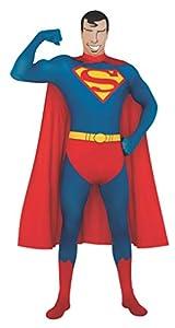 Superman I-880520L - Disfraz hombre (adulto) (talla L- 165cm /180 cm)