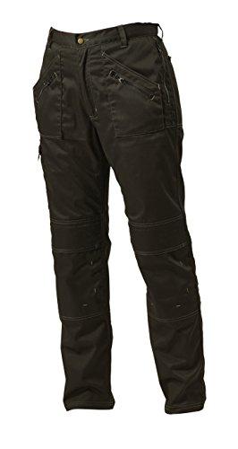 Apache - Pantaloni da lavoro Action, nero (nero), 30/33 pollici (76 - 84 cm)
