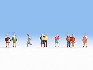 NOCH 15809 Figures Parte y Accesorio de juguet ferroviario - Partes y Accesorios de Juguetes ferroviarios (Figures, Cualquier Marca, 9 Pieza(s),, HO (1:87))