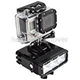 Alcoa Prime Underwater Waterproof Diving Spot Light LED Mount For GoPro Hero 4 3+ Camera