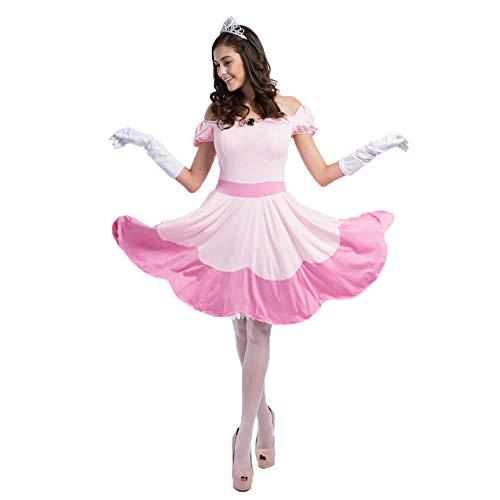Rosa Prinzessin Fee Kostüm Cosplay Halloween Cosplay Kostüm Thema Party Film Kleidung,Pink-OneSize (Männliche Fee Kostüm)