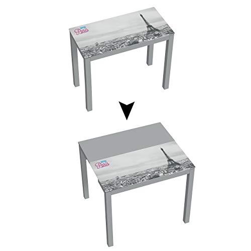 Mesa de cocina Suarez Serra hecho de acero, 1 unidad, color plata, dimensiones 45 x 90 x 75,6 cm (H225-BJP)