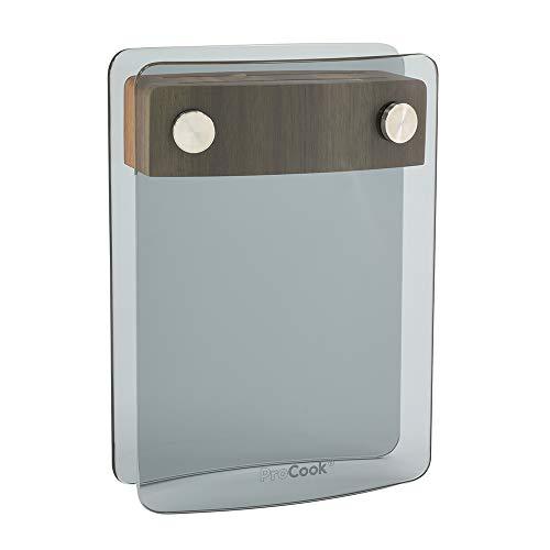 ProCook Messerblock | aus Glas und Akazienholz | 2 Aufnahmen