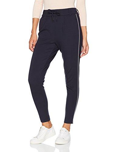 ONLY Damen Hose Onlpoptrash Piping Pant Noos, Blau (Night Sky), 40/L32 (Herstellergröße: L)