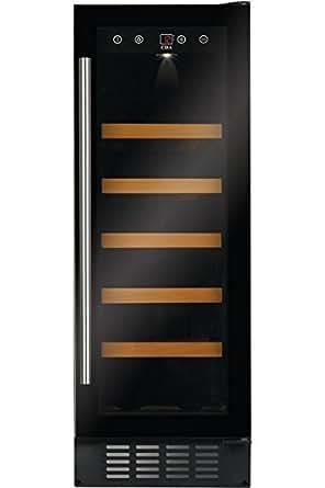 cda fwc303 freestanding wine fridge black 20bottle s a. Black Bedroom Furniture Sets. Home Design Ideas