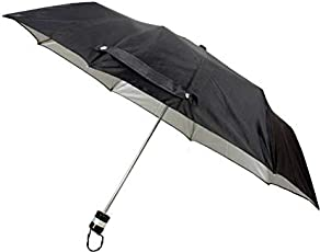 Generic Pocket Friendly Black Folding Umbrella