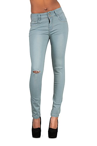 LustyChic - Jeans - Femme bleu clair
