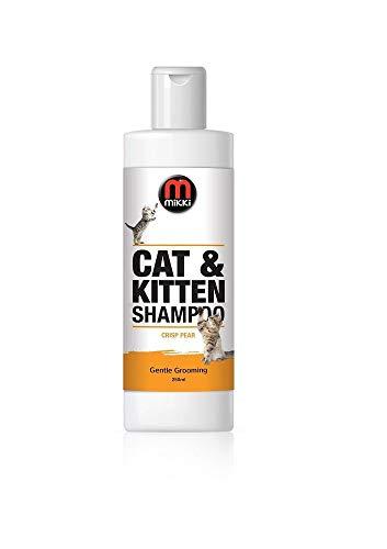 Mikki | Shampoo per Gatti e Gattini | 250 ml | al Profumo di Pera Fresca
