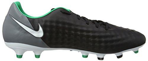 Nike Magista Onda Ii Fg, Chaussures de Football Entrainement Homme Noir (Black/white-dark Grey-stadium Green)
