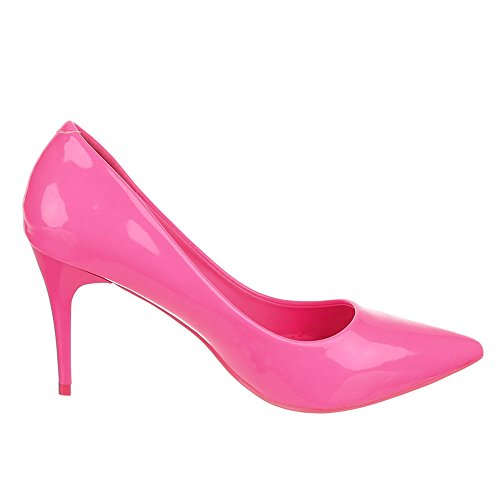 Ital-Design, Scarpe col tacco donna Rosa (rosa)