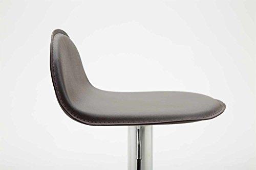 Clp sgabello design lana v sedia cucina con poggiapiedi i