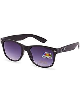 Morefaz - Gafas de sol unisex estilo aviador, polarizadas, protección UV400 plateado Fake Polarized